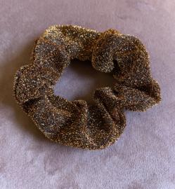 Scrunchie Bruin glitter