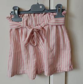 Short stripes pink/white