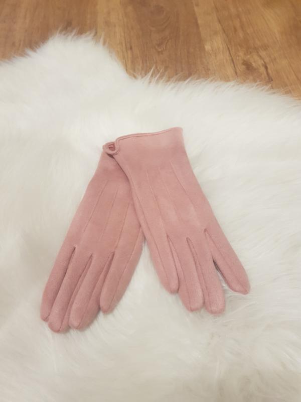 Gloves roze
