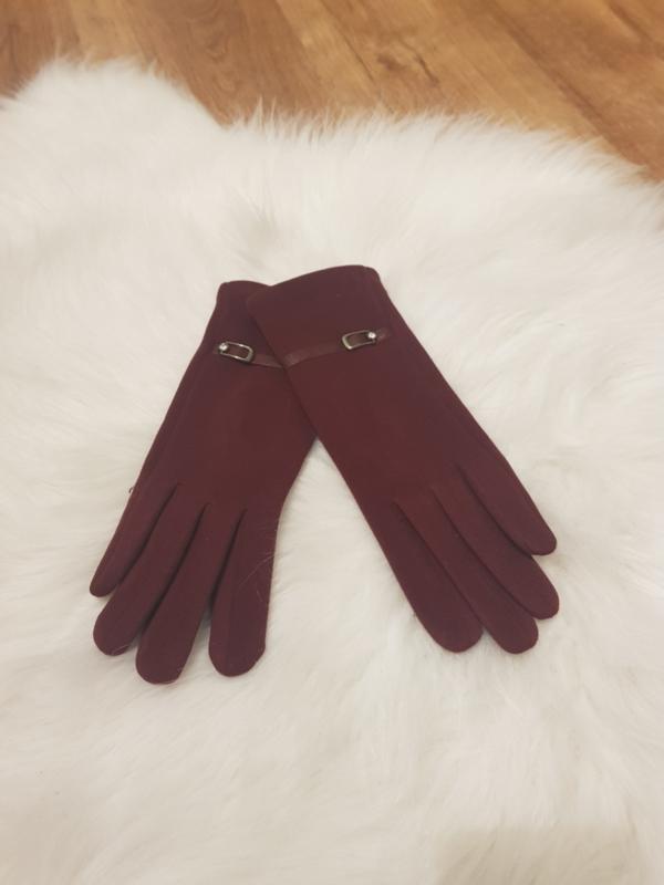 Gloves Bordeaux