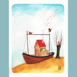 Originele Illustratie   Home Love