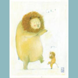 Originele Illustratie   Be a Lion
