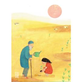 Postkaart A6 | Tree Planting | 1 stuk