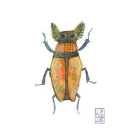 Kaart A7 | Bugs and beetles 7 | 5 stuks