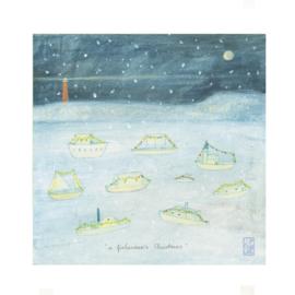 Postkaart | A Fishermen's Christmas | 5 stuks