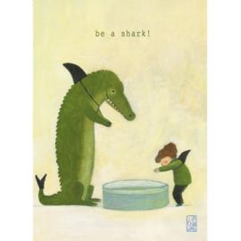 Postkaart A6 | Be a Shark! | 5 stuks