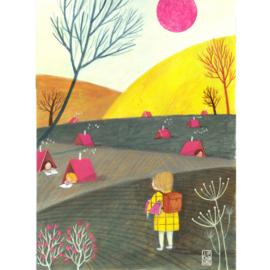 Postkaart A6 | Book Holiday | 1 stuk