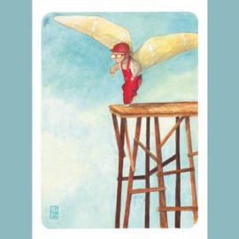 Originele Illustratie | Little Icarus