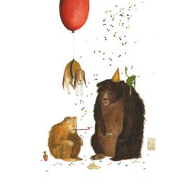 Postkaart A6 | Grumpy Birthday | 1 stuk