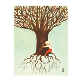 Kleine Poster A4 | Tree Hug