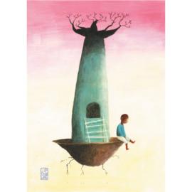 Postkaart A6 | Baobab Boy | 5 stuks