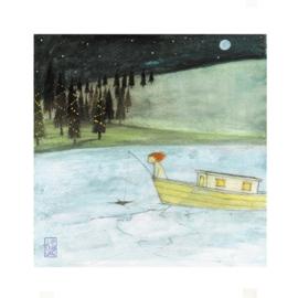 Postkaart | Girl-Ice | 5 stuks