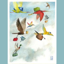Originele illustratie | Migration