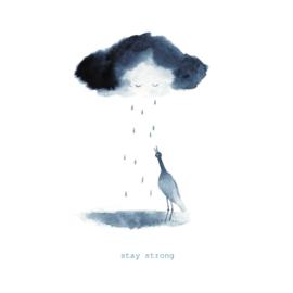 Postkaart A6 | Stay Strong | 1 stuk