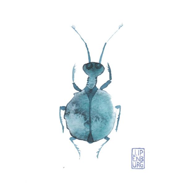 Kaart A7   Bugs and beetles 5   5 stuks