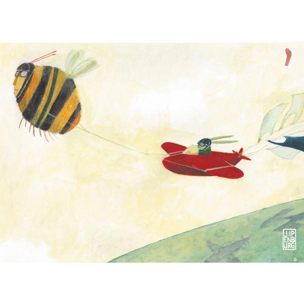 Kleine poster A4 | Hommel en Haas