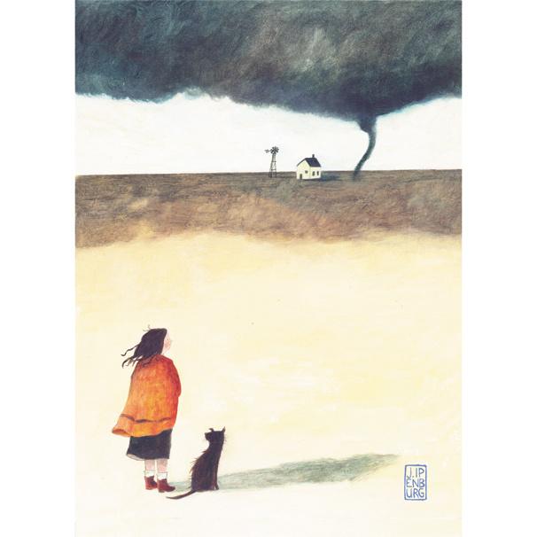Postkaart A6 | Tornado | 5 stuks