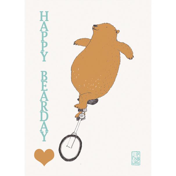Postkaart A6 | Happy Bear day | 1 stuk