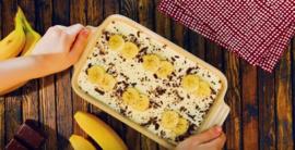 Bananencake met botercrème