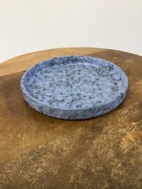 Kaarsenonderzetter steen