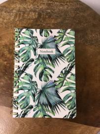 Notitieboek Botanic A6 ruit