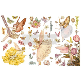 Transfer RD Fairy Flowers