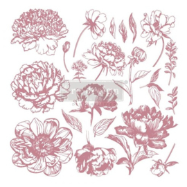Stempel Redesign Linear Floral