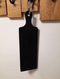 Serveerplank lang zwart