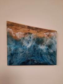 Epoxy kunstwerk Zee 1