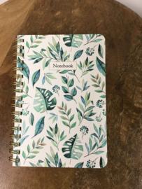 Notitieboek Botanic A6 lijn