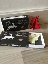 Wensdoosje / Greetingbox Prettige feestdagen