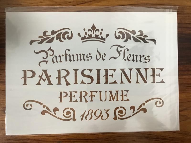 Sjabloon 'Parissiene'