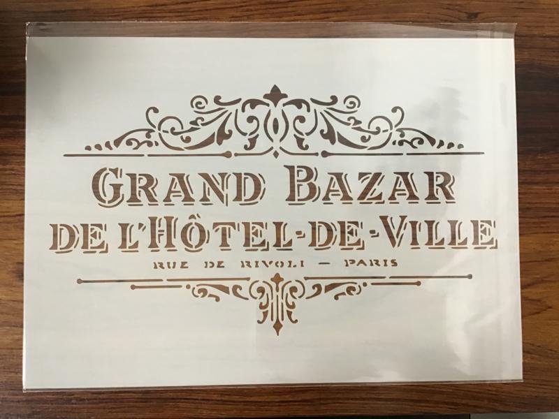 Sjabloon 'Grand Bazar'