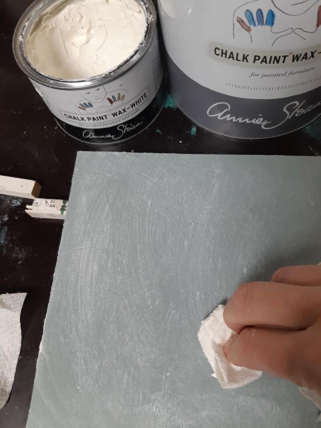 Annie Sloan wax en lacquer