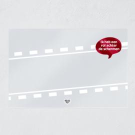 Plexiglas veiligheidsscherm - Ik heb een rol achter de schermen (UITVERKOCHT)