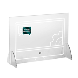 Plexiglas veiligheidsscherm - Schermbeveiliging (UITVERKOCHT)