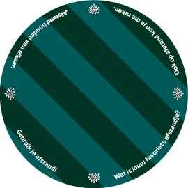 Vloercirkel met print (3 m)