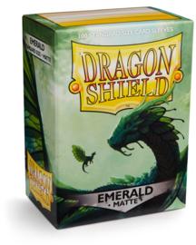 Dragon Shield - Emerald Matte Sleeves