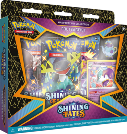 Mad Party Pin Collection - Polteageist - Shining Fates