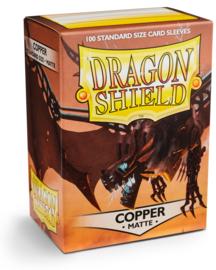 Dragon Shield - Copper Matte Sleeves