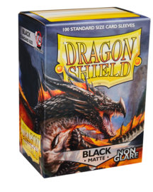 Dragon Shield - Black Matte Non Glare Sleeves
