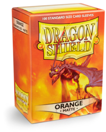 Dragon Shield - Orange Matte Sleeves