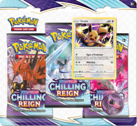 3 Pack Booster Blister - Eevee - Chilling Reign
