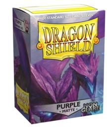 Dragon Shield - Purple Matte Non Glare Sleeves