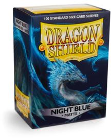 Dragon Shield - Night Blue Matte Sleeves