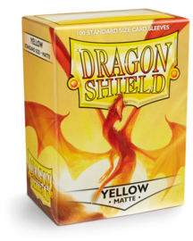 Dragon Shield - Yellow Matte Sleeves