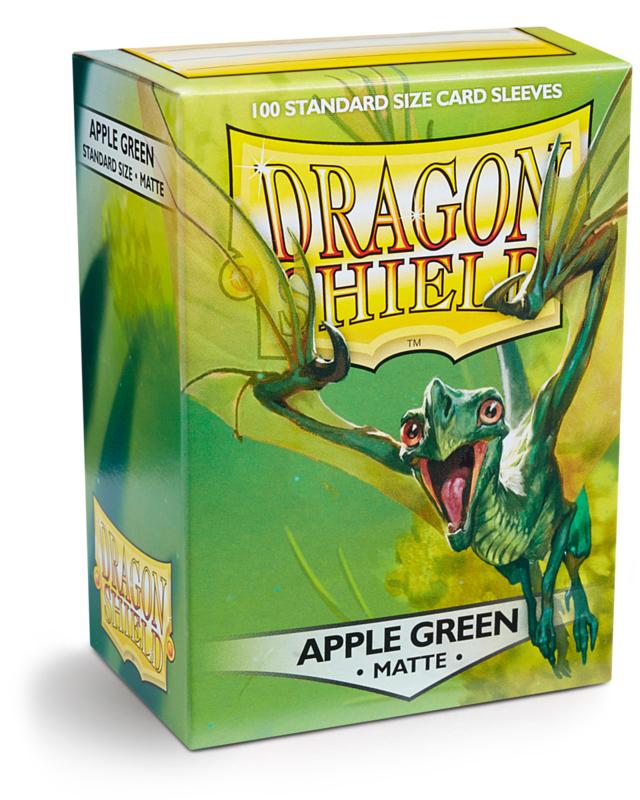 Dragon Shield - Apple Green Matte Sleeves
