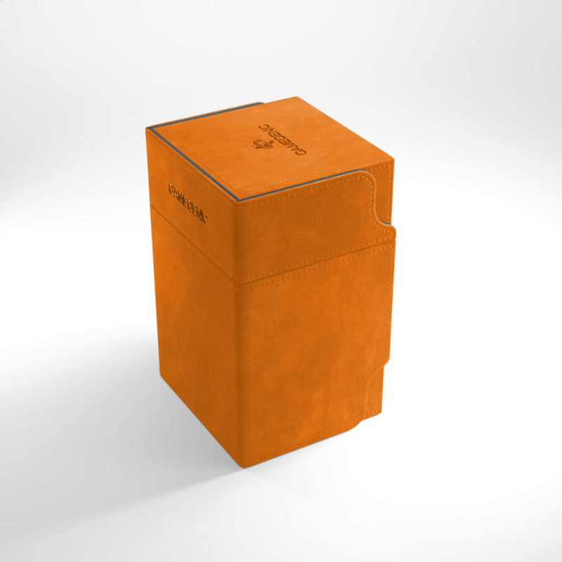 Gamegenic - Watchtower 100+ Convertible Deckbox - Orange