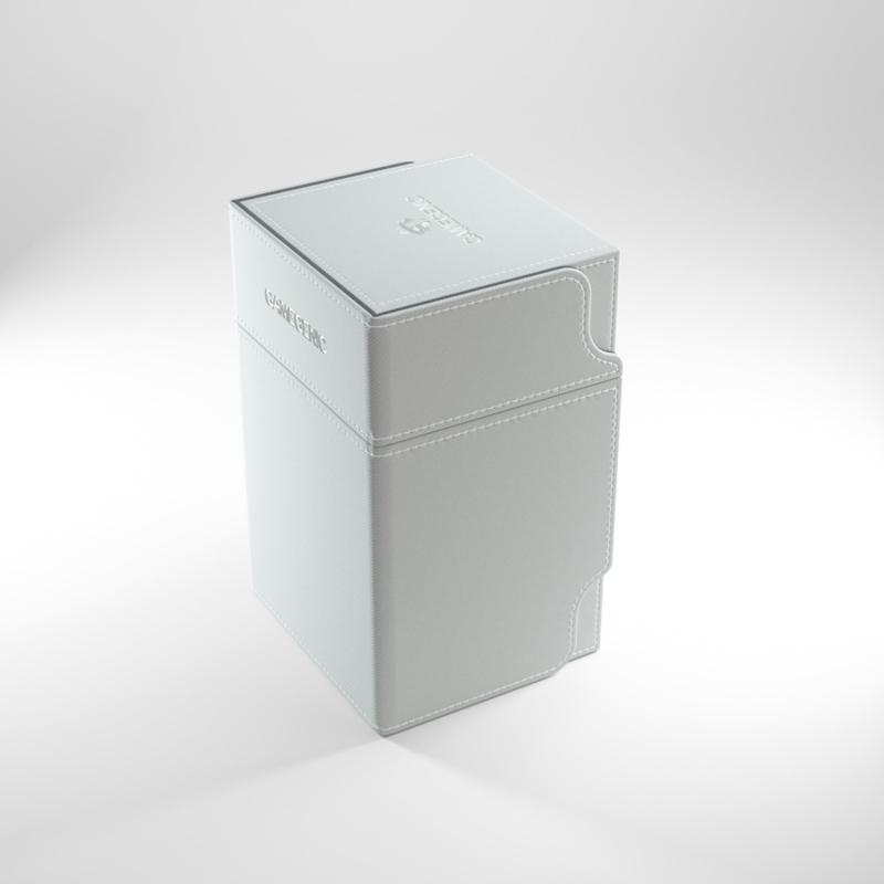 Gamegenic - Watchtower 100+ Convertible Deckbox - White
