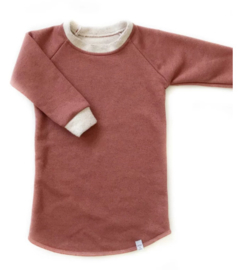 Little & Cool | Sweaterdress Glitter Terra
